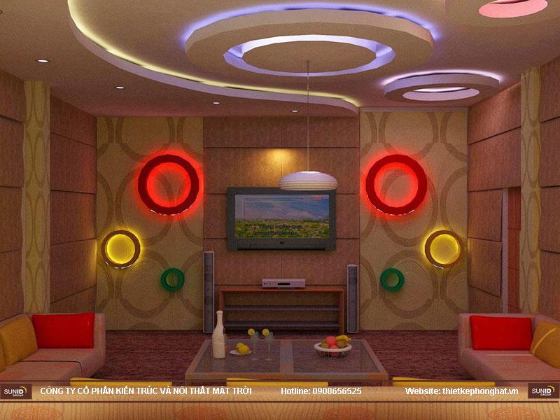 mẫu thiết kế phòng karaoke đẹp lung linh9