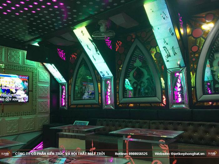 thi công nội thất quán karaoke phương thanh thái bình10