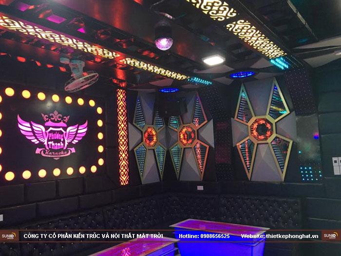 thi công nội thất quán karaoke phương thanh thái bình12