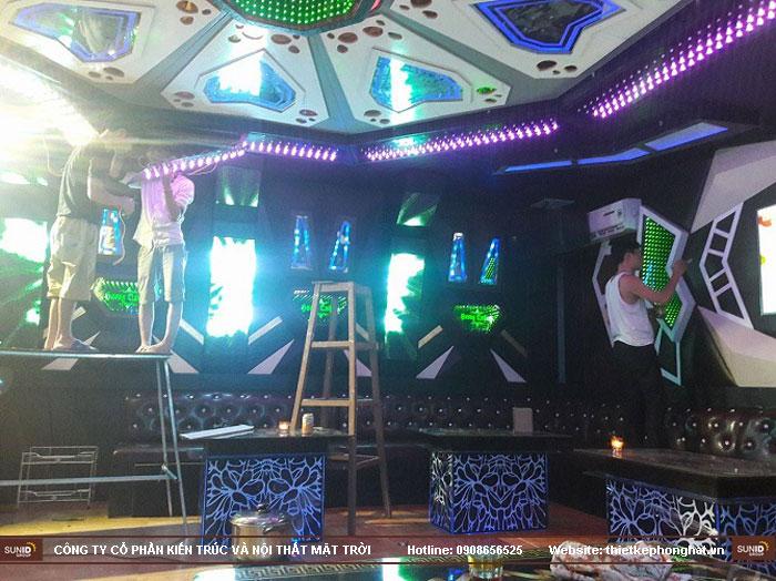 thi công phòng hát karaoke bình minh10