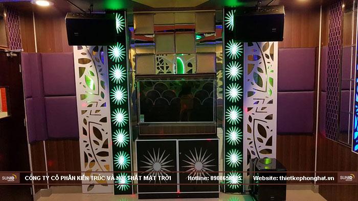 thi công phòng hát karaoke ruby thai nguyen12