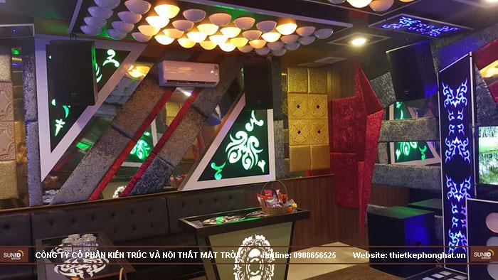 thi công phòng hát karaoke ruby thai nguyen14