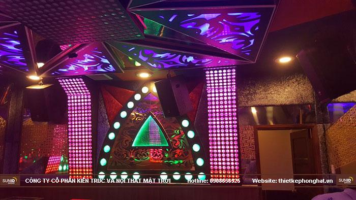 thi công phòng hát karaoke ruby thai nguyen15