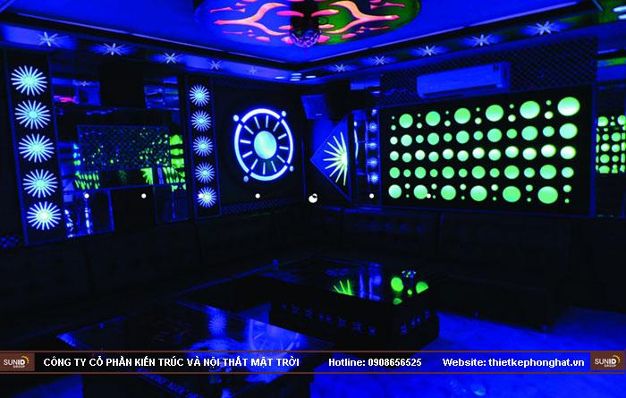 thi công phòng hát karaoke ruby thai nguyen17