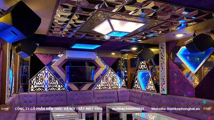 thi công phòng hát karaoke ruby thai nguyen7