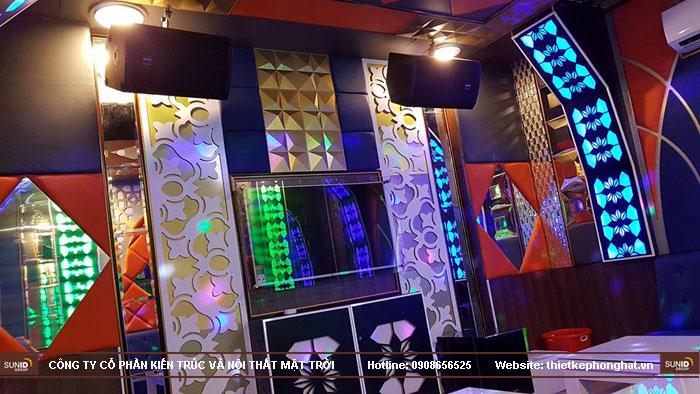 thi công phòng hát karaoke ruby thai nguyen8