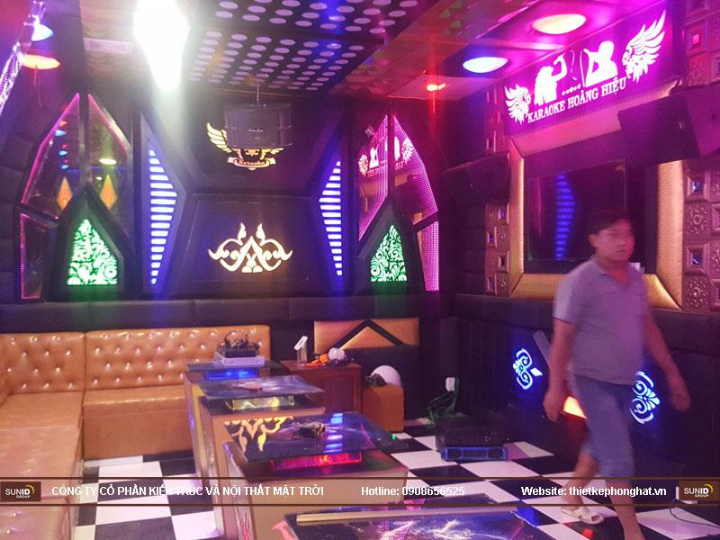 Thi công phòng karaoke hoàng hiệu hà nội10