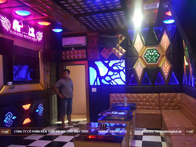Thi công phòng karaoke hoàng hiệu hà nội11