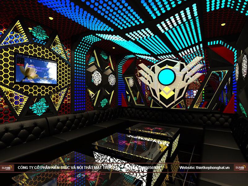 Thi công phòng karaoke hoàng hiệu hà nội13