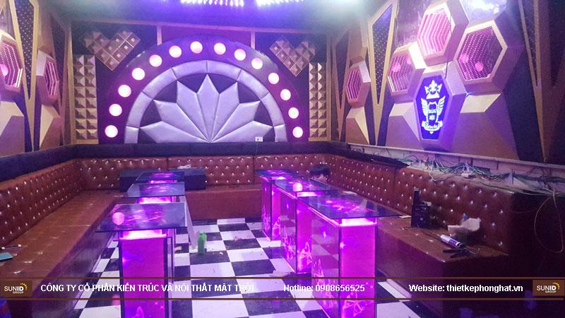 Thi công phòng karaoke hoàng hiệu hà nội4