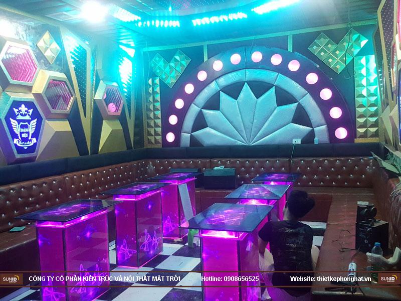 Thi công phòng karaoke hoàng hiệu hà nội8