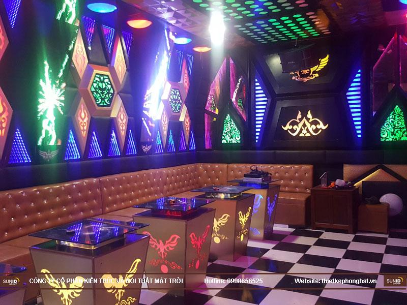 Thi công phòng karaoke hoàng hiệu hà nội9