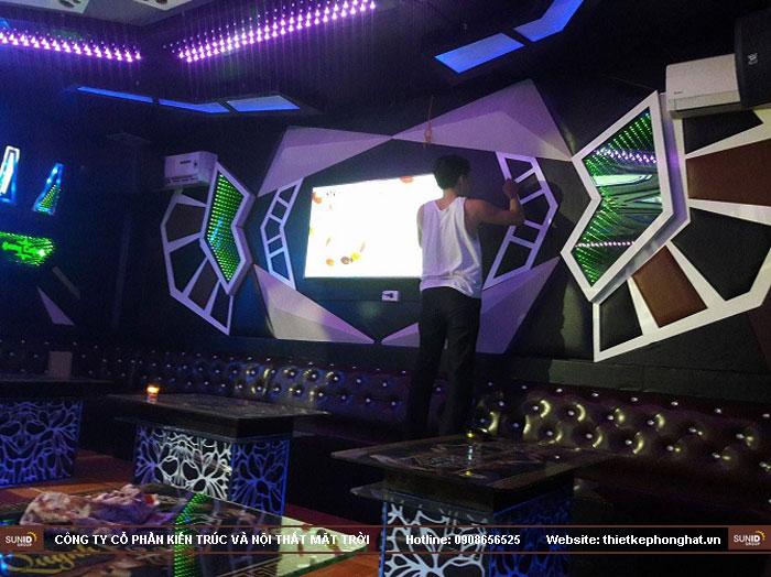 thi công quán karaoke ong xinh hà nam9