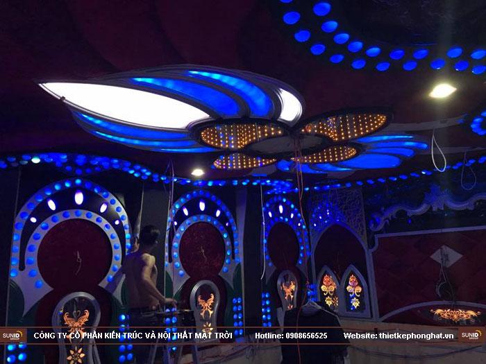 thiết kế karaoke royal phong cách hoàng gia11