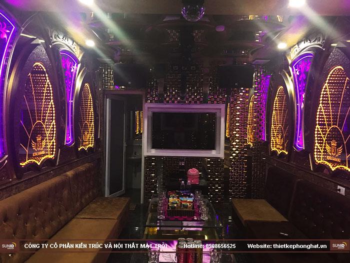 thiết kế karaoke royal phong cách hoàng gia5