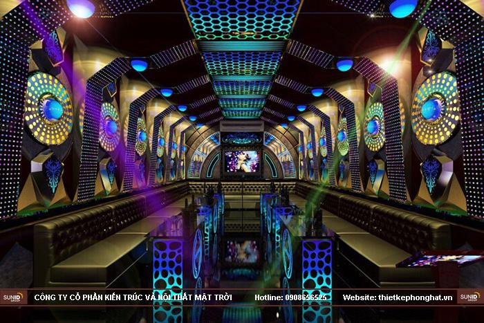 Thiết kế phòng Karaoke tại Hải DươngThiết kế phòng Karaoke tại Hải Dương