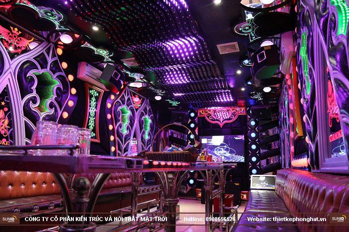 thiết kế phòng karaoke tại thành phố bắc giang10
