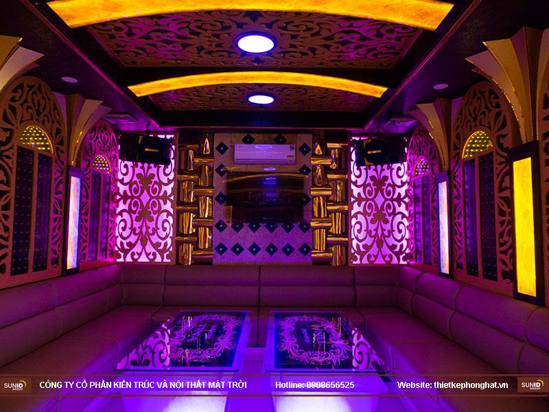 thiết kế quán karaoke vip tina11