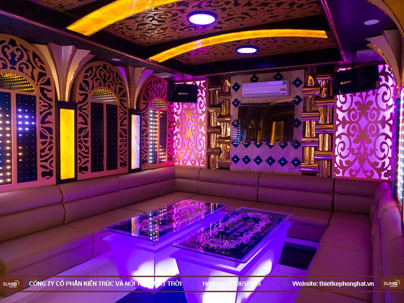 thiết kế quán karaoke vip tina12