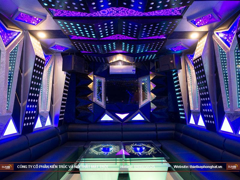 thiết kế quán karaoke vip tina13