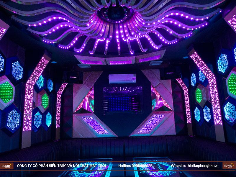 thiết kế quán karaoke vip tina14