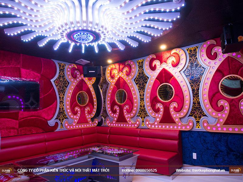 thiết kế quán karaoke vip tina15