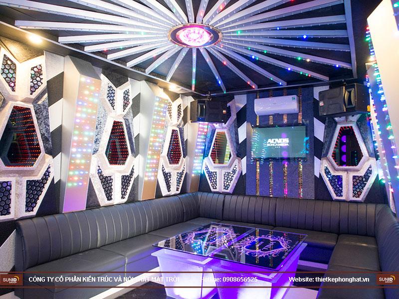 thiết kế quán karaoke vip tina5