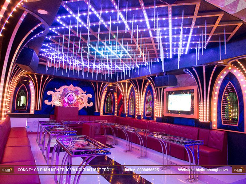 thiết kế quán karaoke vip tina7