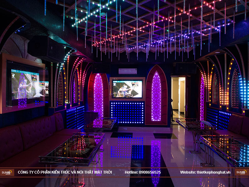thiết kế quán karaoke vip tina8