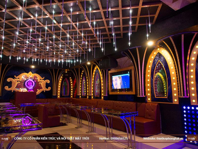 thiết kế quán karaoke vip tina9
