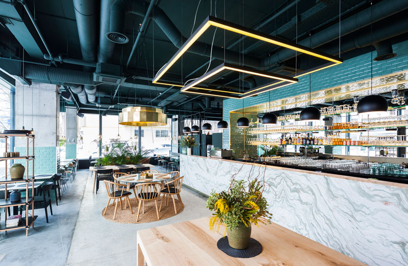 báo giá thiết kế thi công nội thất quán cafe3