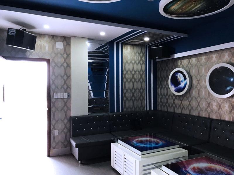 thiết kế phòng karaoke thể thao2
