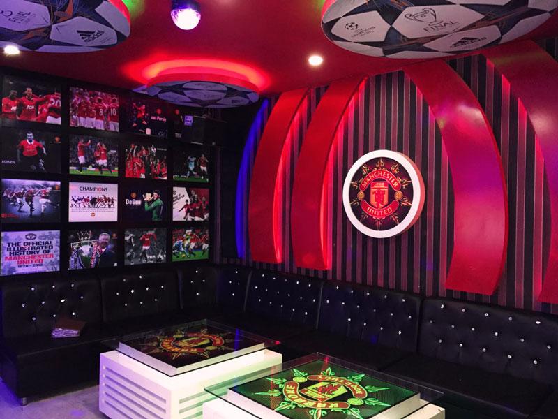 thiết kế phòng karaoke thể thao1