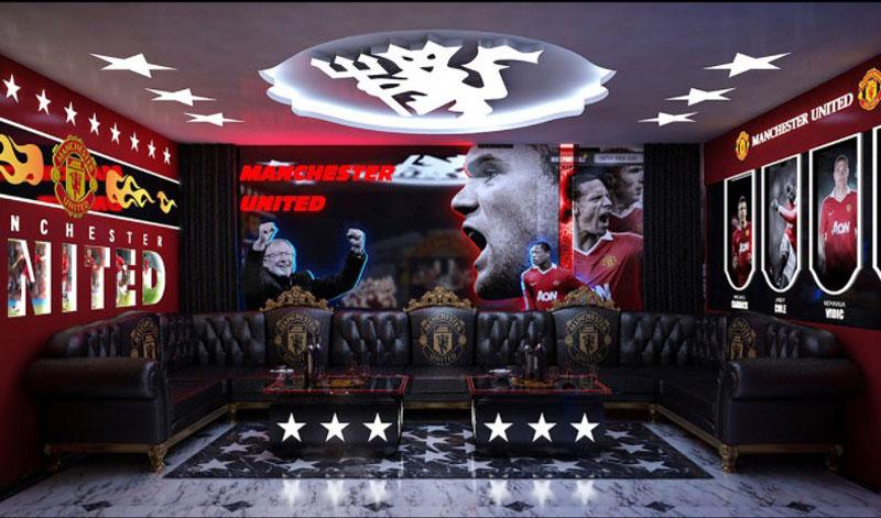 thiết kế phòng karaoke thể thao4