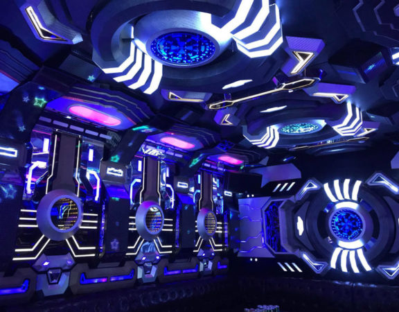thiết kế phòng karaoke transformer