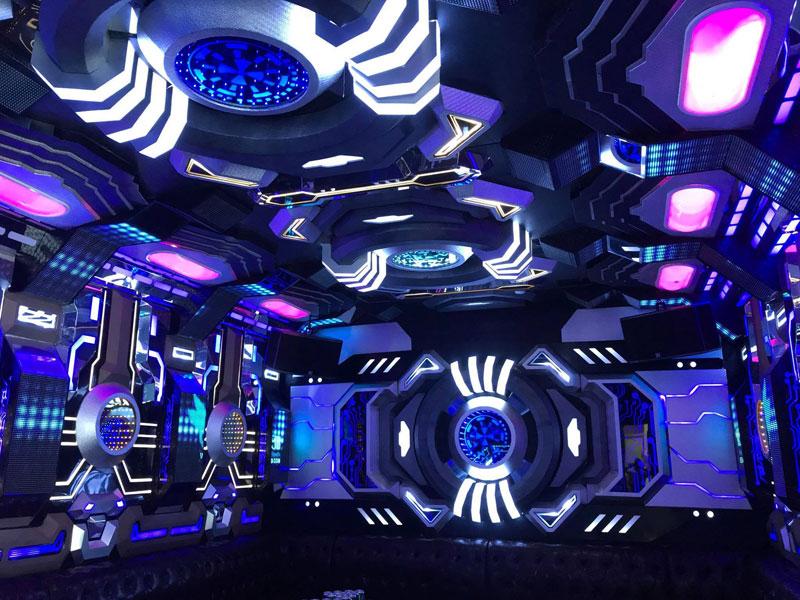 thiết kế phòng karaoke transformer2