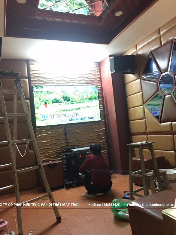 thi công phòng karaoke gia đình tại hoàn kiếm hà nội1