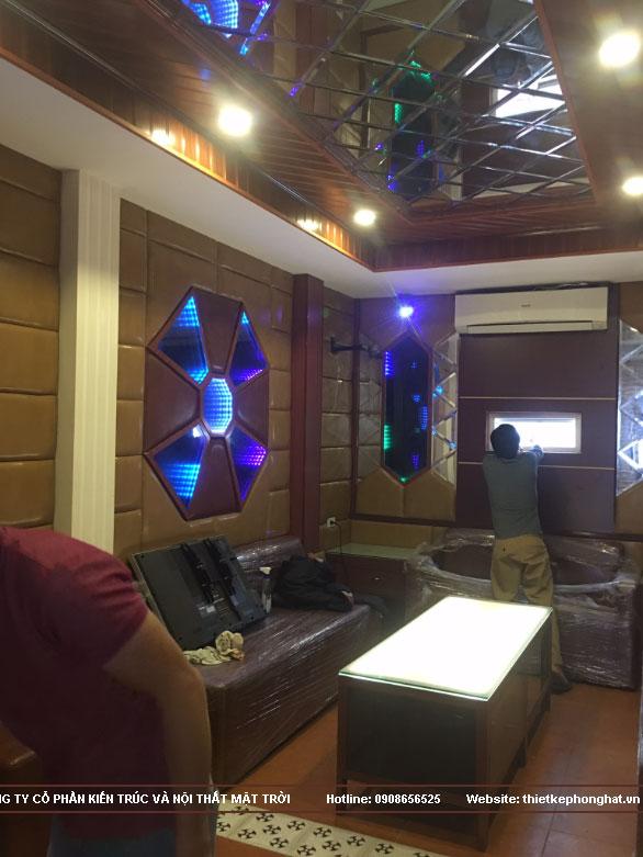thi công phòng karaoke gia đình tại hoàn kiếm hà nội5