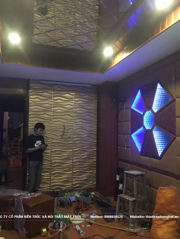 thi công phòng karaoke gia đình tại hoàn kiếm hà nội6