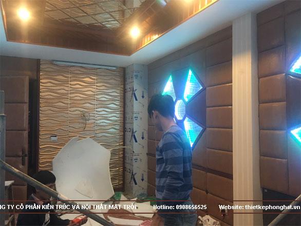 thi công phòng karaoke gia đình tại hoàn kiếm hà nội8