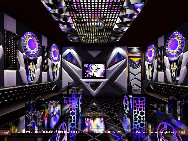 thi công phòng karaoke tại hoàng mai hà nội