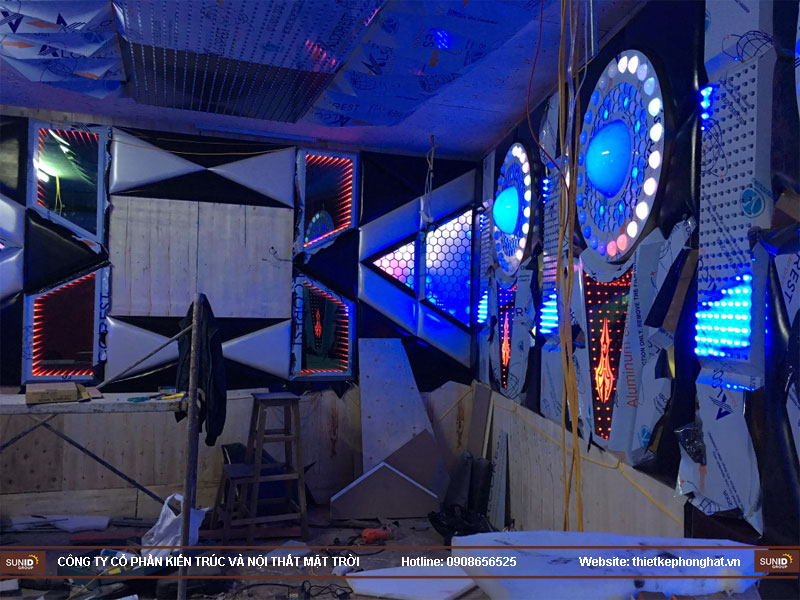 thi công phòng karaoke tại hoàng mai hà nội15