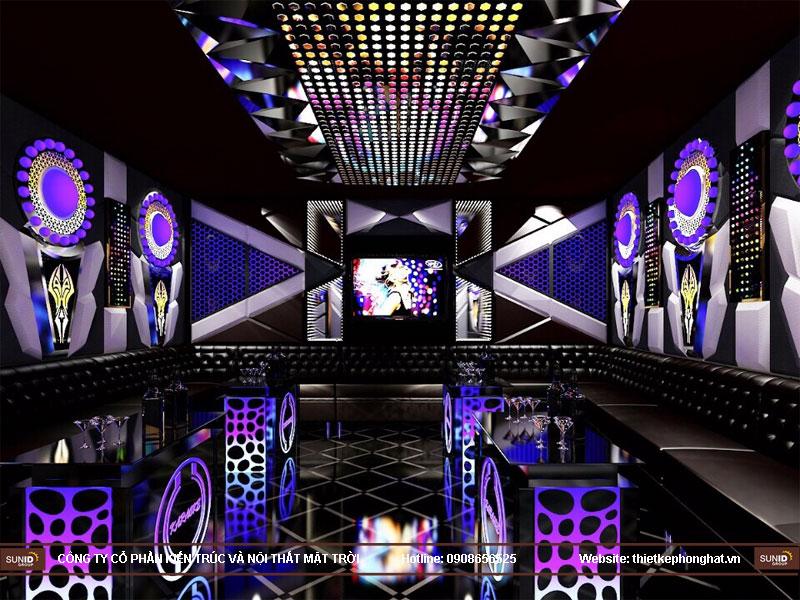 thi công phòng karaoke tại hoàng mai hà nội2