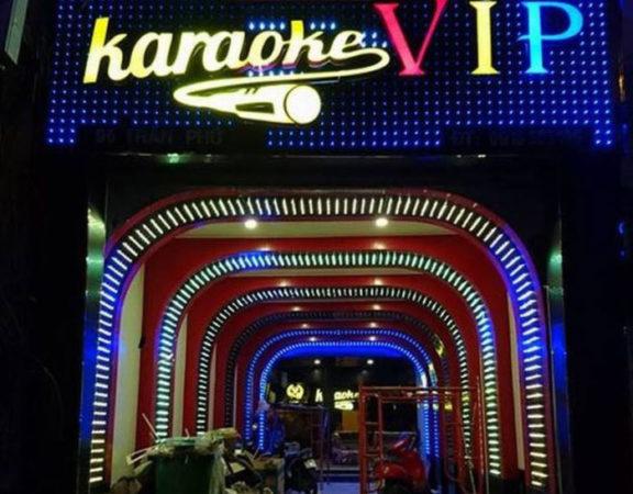 thi công trang trí nội thất karaoke thái dương1
