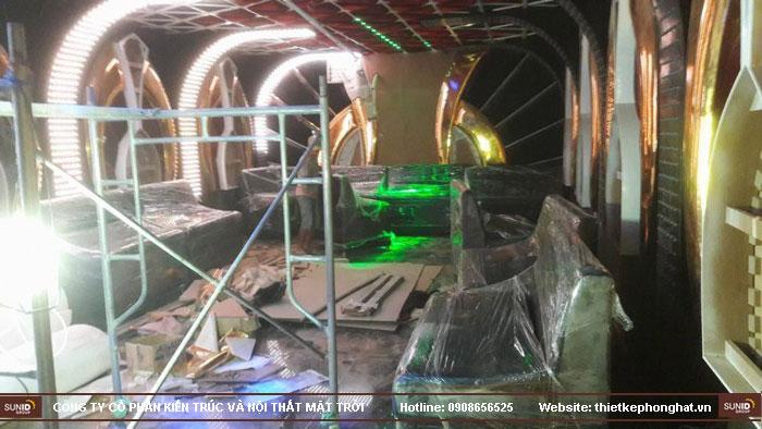 thi công trang trí nội thất karaoke thái dương10
