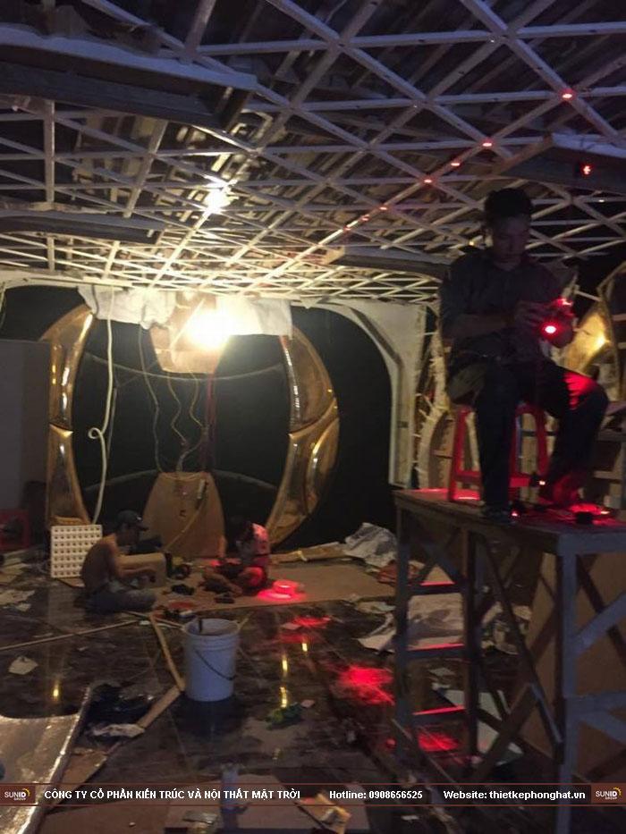 thi công trang trí nội thất karaoke thái dương9
