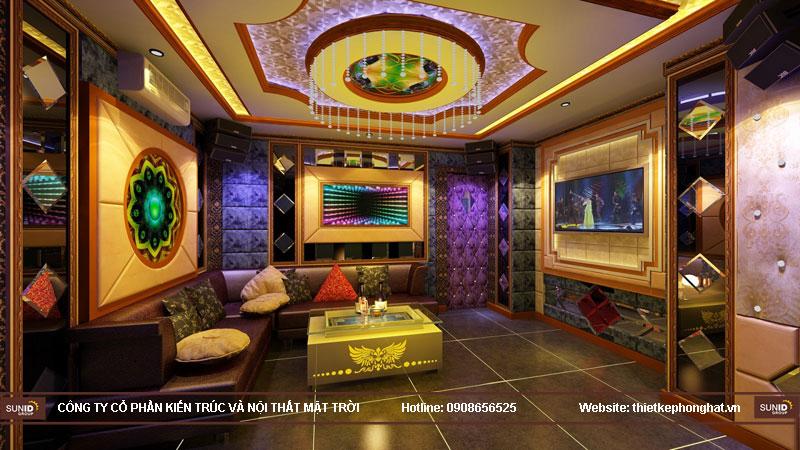 thiết kế phòng karaoke đơn giản sang trọng 10