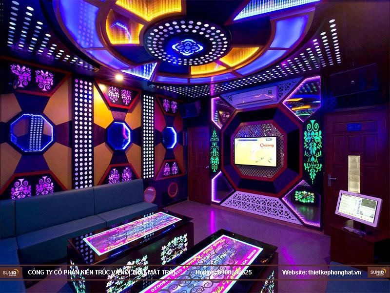thiết kế phòng karaoke đơn giản sang trọng 12