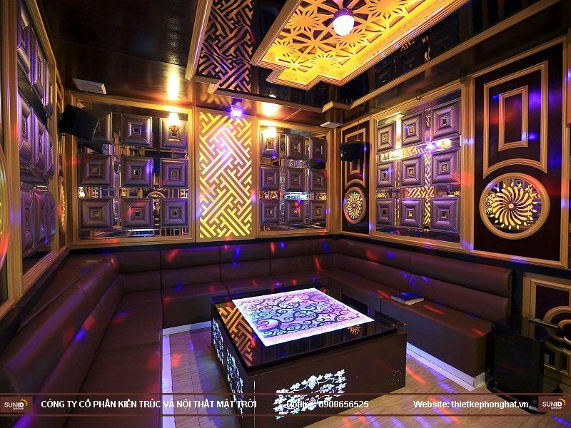 thiết kế phòng karaoke đơn giản sang trọng 13