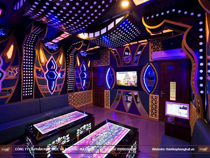 thiết kế phòng karaoke đơn giản sang trọng 16